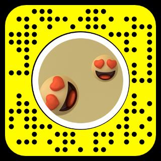 Heart-Eye Head Snapcode
