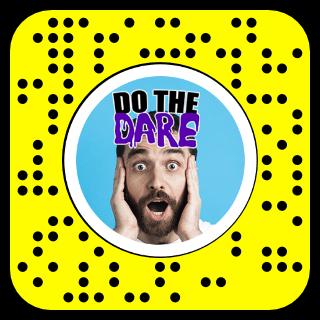 DO THE DARE Snapcode